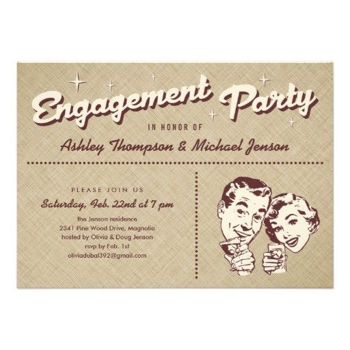 Original Funny Engagement Party Invitation Wording 4 About Unusual ...