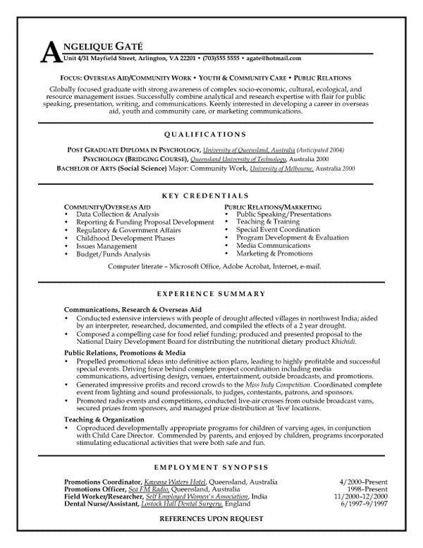 26 best resumes images on Pinterest | Teacher resumes, Resume ...
