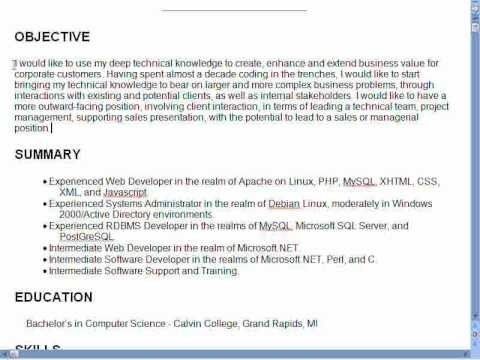 resume objectives resume objective for accounts payable resume