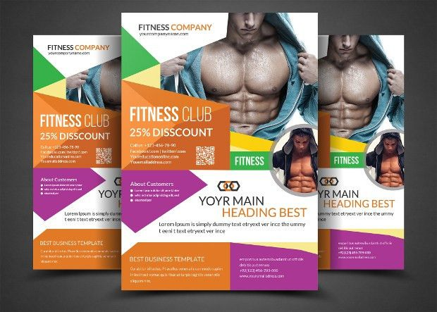 21+ Gym Flyer Designs, PSD Download   Design Trends - Premium PSD ...
