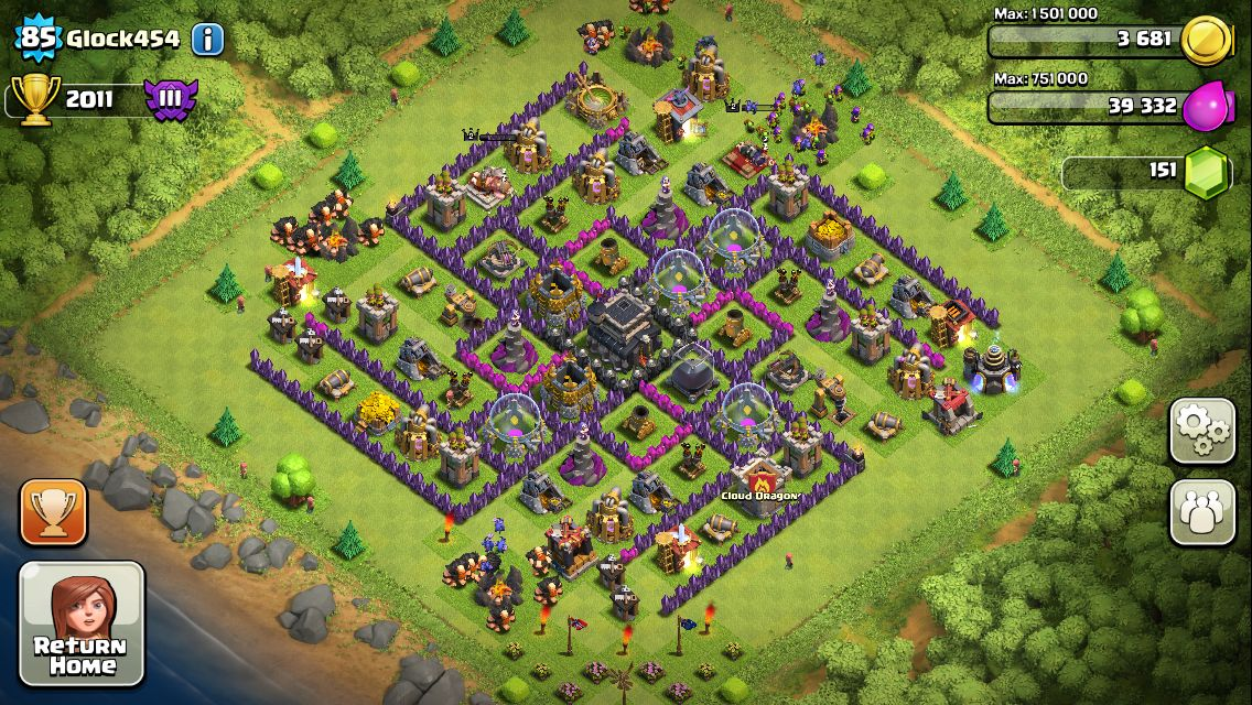 clash of clans base kaufen