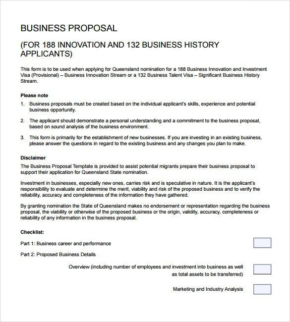 28+ Business Proposal Templates | Business Proposal Templates ...