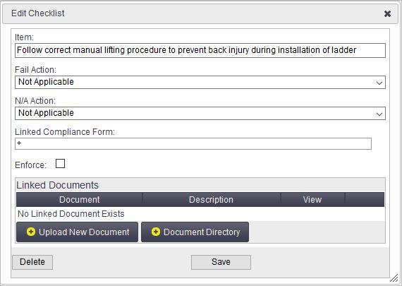 Risk Templates - Office Documentation - AroFlo Documentation