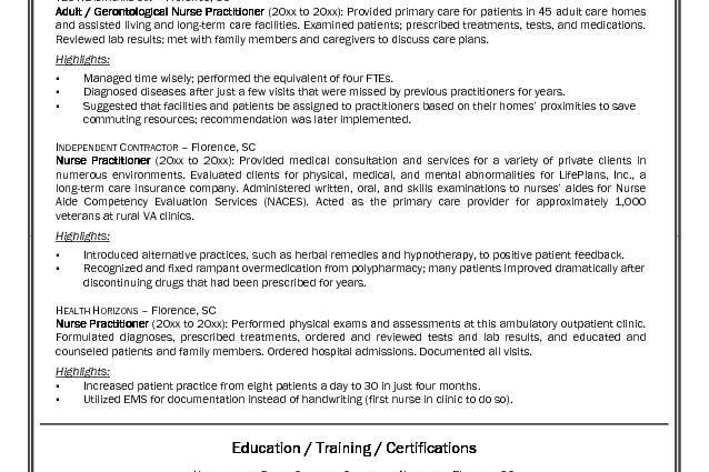 nurse resume example sample see best ideas about registered ...
