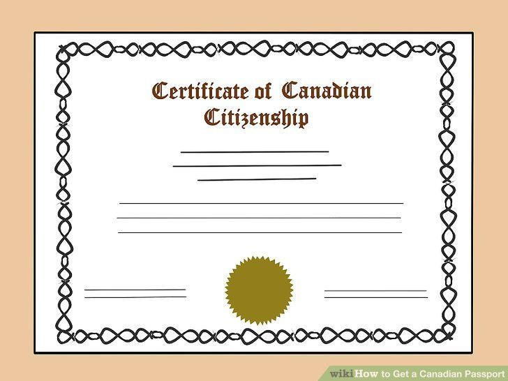 How to Get a Canadian Passport: 12 Steps (with Pictures) - wikiHow