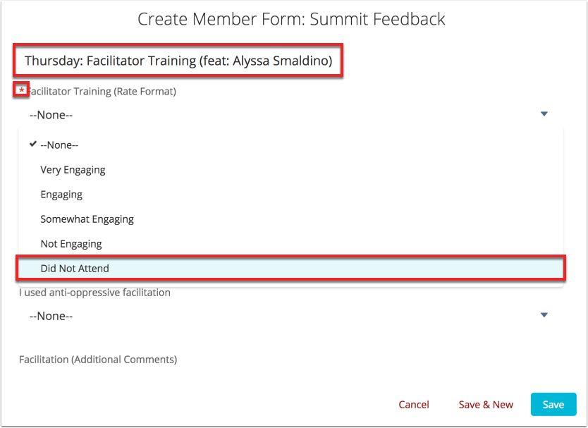 Summit Feedback | Forms & Feedback | GlobeMed Collaboratory