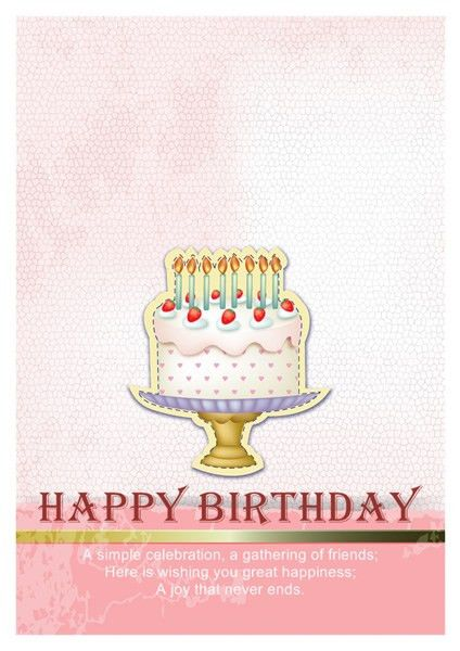 Birthday Card Templates | Greeting Card Builder