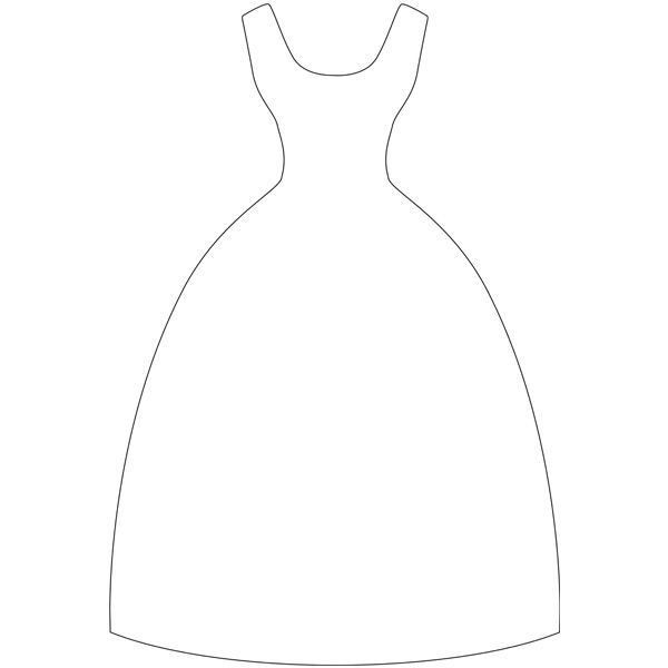149 best dress templates images on Pinterest | Dress card, Paper ...