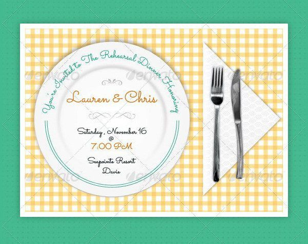 Dinner Invitation Template - 23+ Free & Premium Download