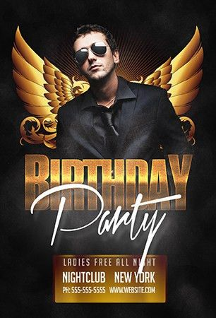 Free Birthday Party Flyer Template – FreshFlyers