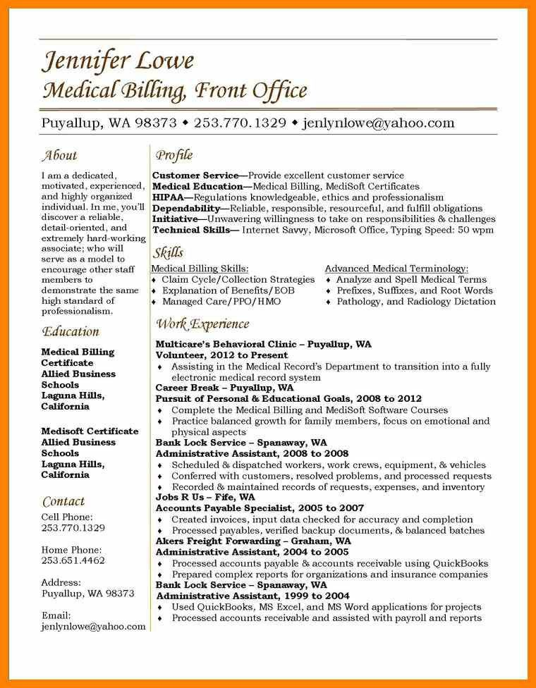 5+ entry level medical billing resume | marriage biodata