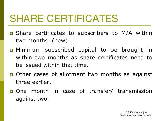 Companies Act, 2013- Shares, debentures and Deposits