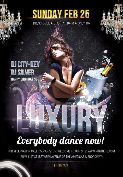 Free Luxury Flyer PSD Template - Free Flyer Templates & PSD Club ...