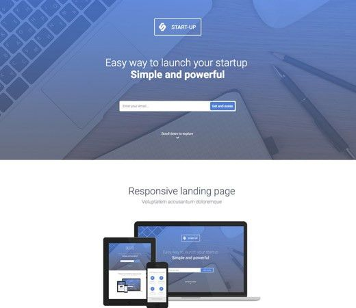 20+ Free Responsive and Mobile Website Templates - Bittbox