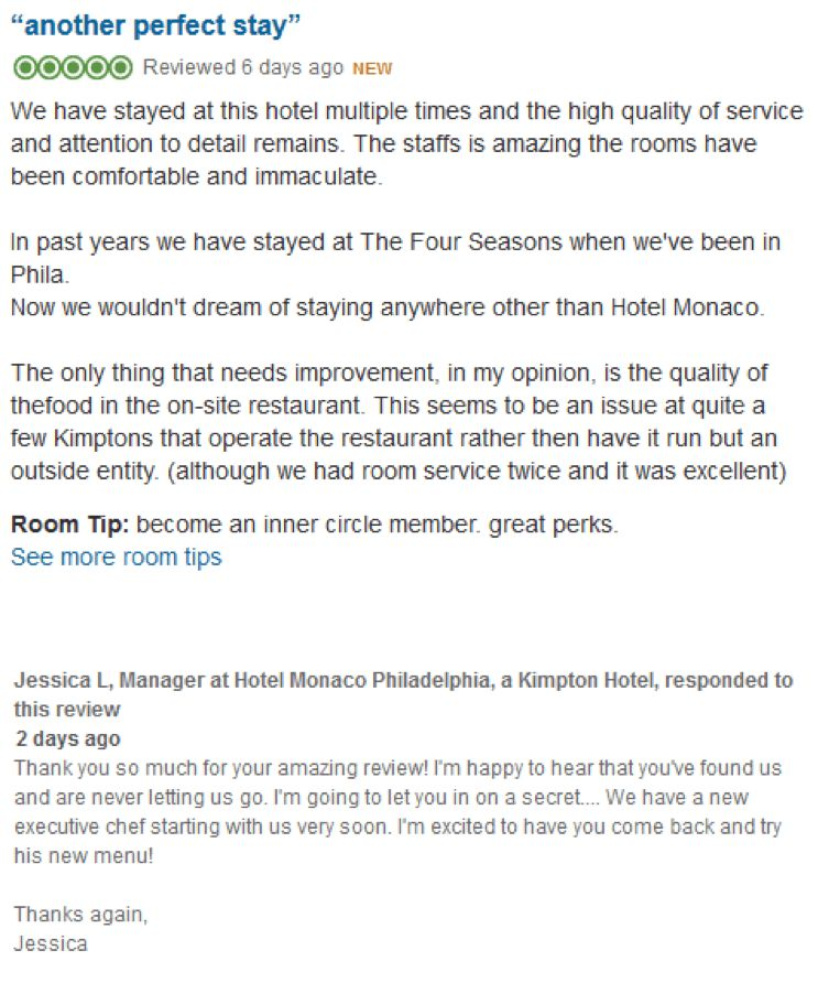 Five Examples of Hotel Managers Responding Like Stars · TrustYou