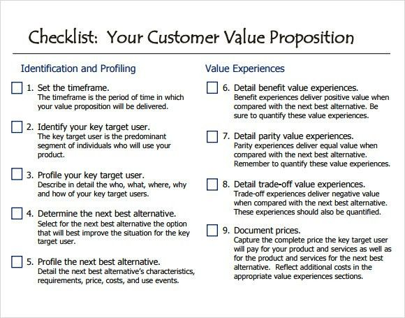 Value Proposition Sample - 9+ Documents in PDF, PPT