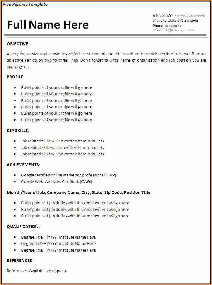 8+ how to write a cv with no job experience - Basic Job Appication ...