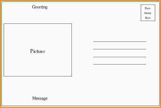 10+ microsoft word postcard template | mac resume template