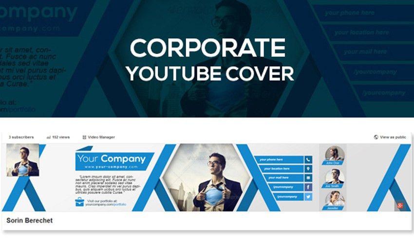 41 Creative YouTube Banner Templates