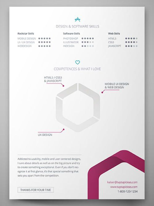 112+ Best Free Creative Resume Templates - Download