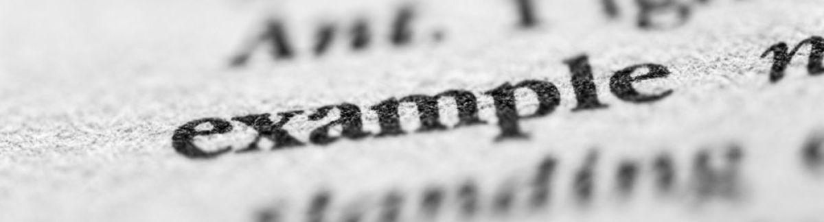How are dictionary examples chosen? | OxfordWords blog