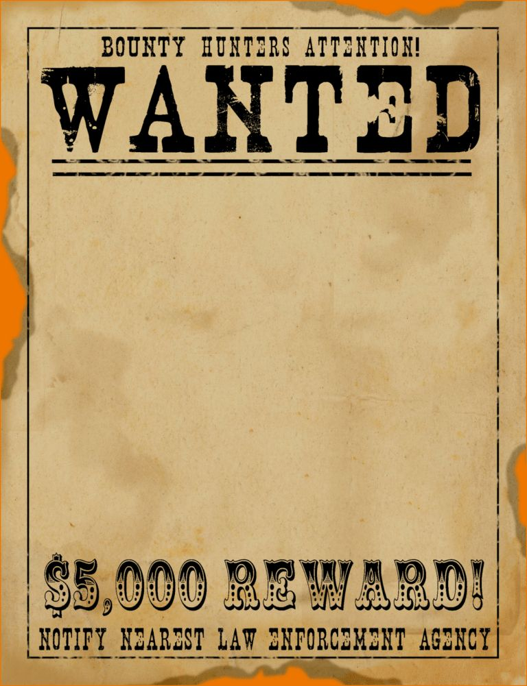 wanted sign template.freeSCRAPBOOKgraphics_wanted_poster.png ...