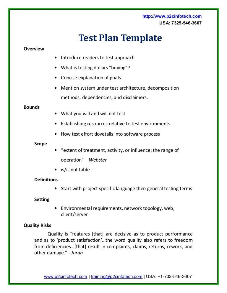 Test PlanningTest Plan. 11 Software Test Plan Ieee Test Plan ...