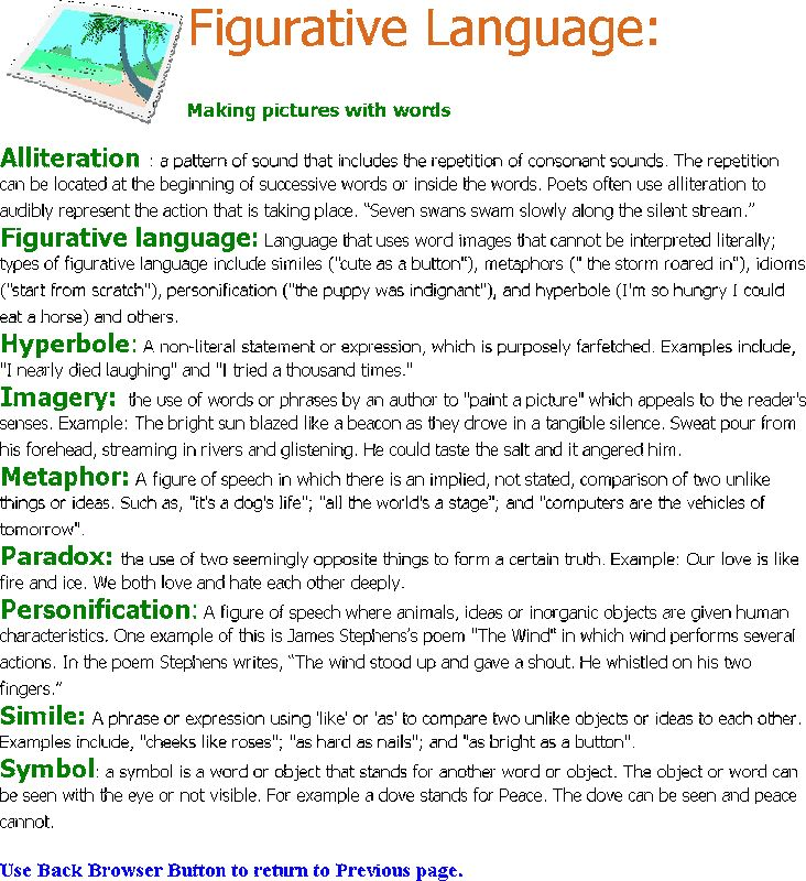 Figurative Language - GGCA English