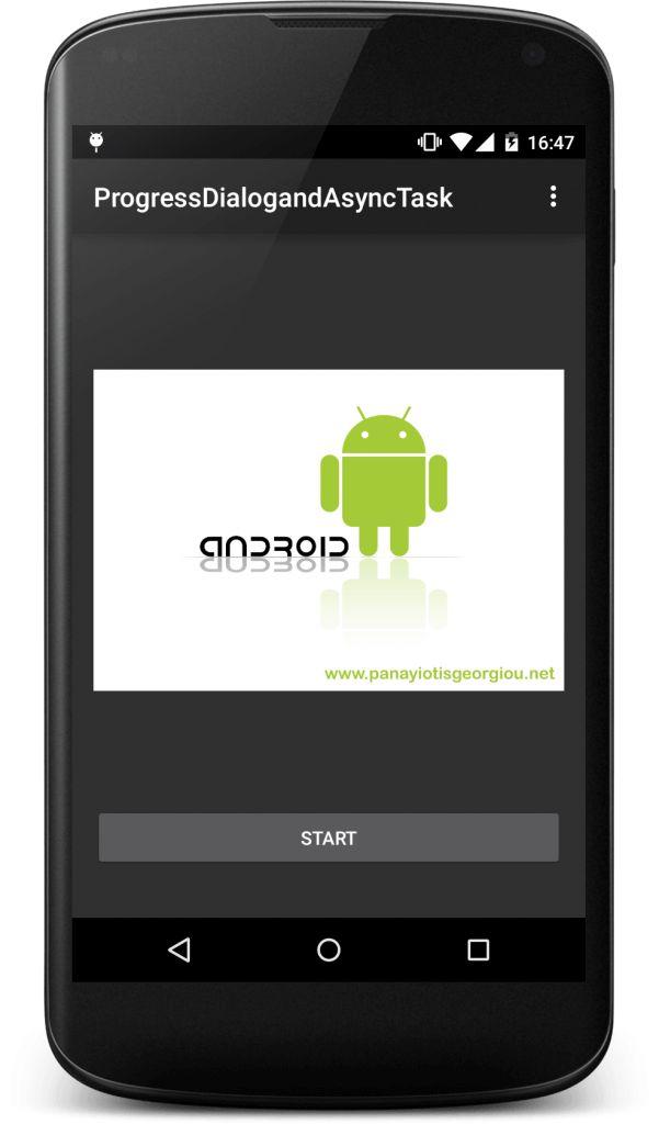 Android ProgressDialog and AsyncTask – Panayiotis Georgiou