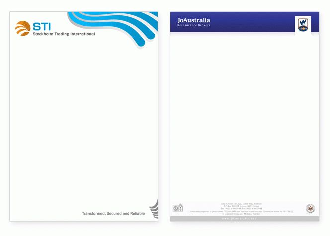 Letterhead Design Service - Empower your business image - from $39 ...