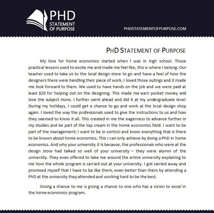 Sample Sop For Phd Free | Phd Statement Of Purpose with Academic ...