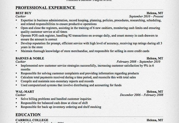 professional cashier resume cashier resume sample writing guide