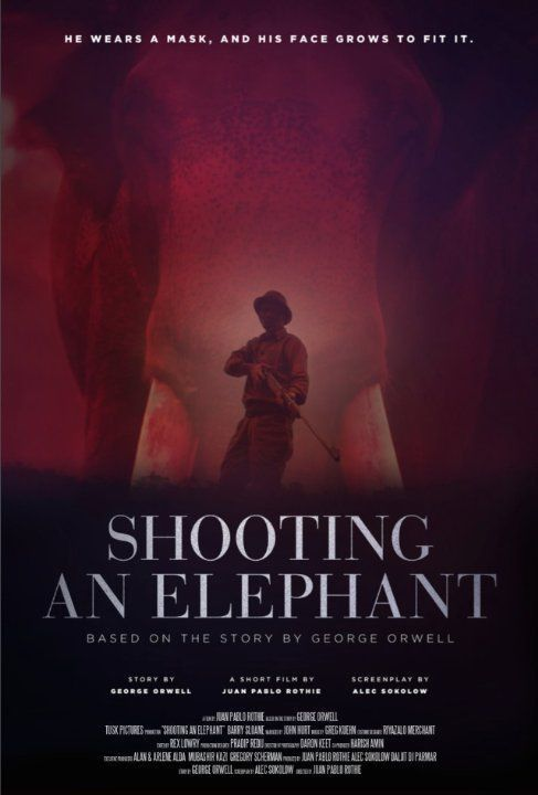 shooting an elephant journal George orwell was born on june 25, 1903 as eric arthur blair he adopted the pen name george orwell in 1933, and he chose a name that shows his deep love for the english tradition and countryside.