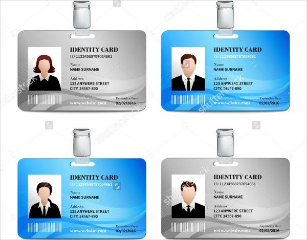 10+ ID Card Templates - Free Sample, Example, Format Download ...
