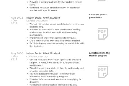 professional resume examples social worker. social worker resume 4 ...