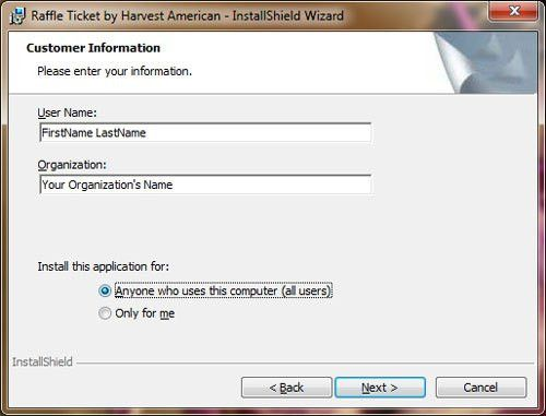 Raffle Ticket Software Installation Guide - Raffle Ticket Software