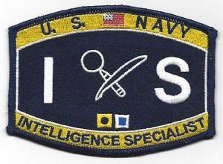 United States Navy INTELLIGENCE SPECIALIST Ratings Patch - IS ...