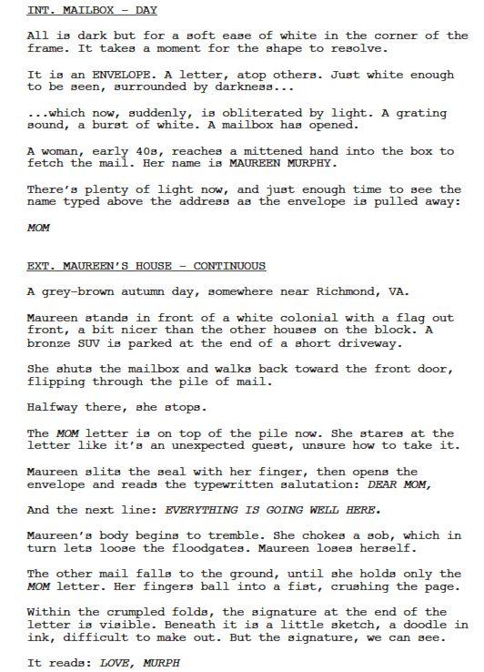 Anatomy of an Opening Scene: THE YELLOW BIRDS (R.F.I. Porto)