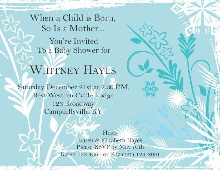 Baby Shower Invitations Templates - The Grid System