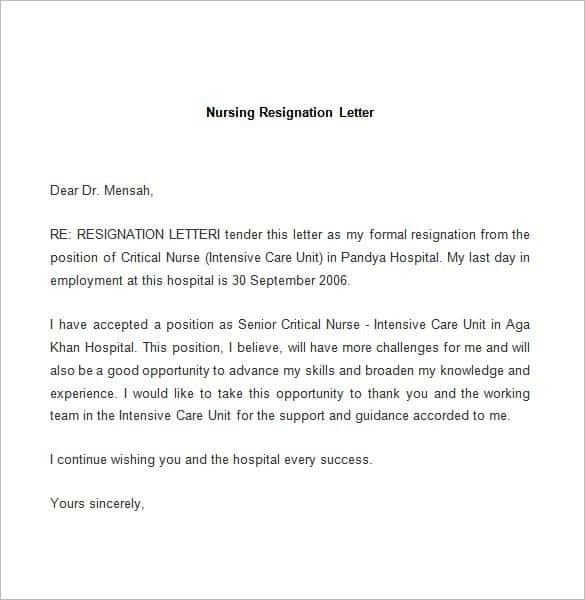 Resignation Letter Sample | | How to Format a Cover Letter