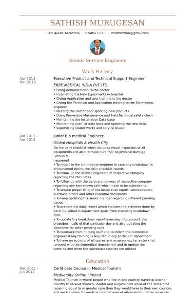Technical Support Engineer CV Örneği - VisualCV Özgeçmiş Örnekleri ...