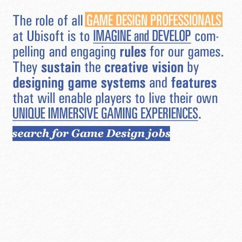 Ubisoft - Careers / The Ubisoft Experience