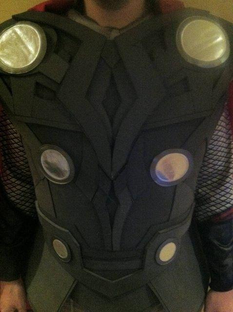 Thor Costume- eva foam project budget build 9/10 | Running ...