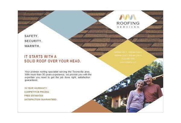 10 Best Images of Roofing Business Flyers Templates - Construction ...