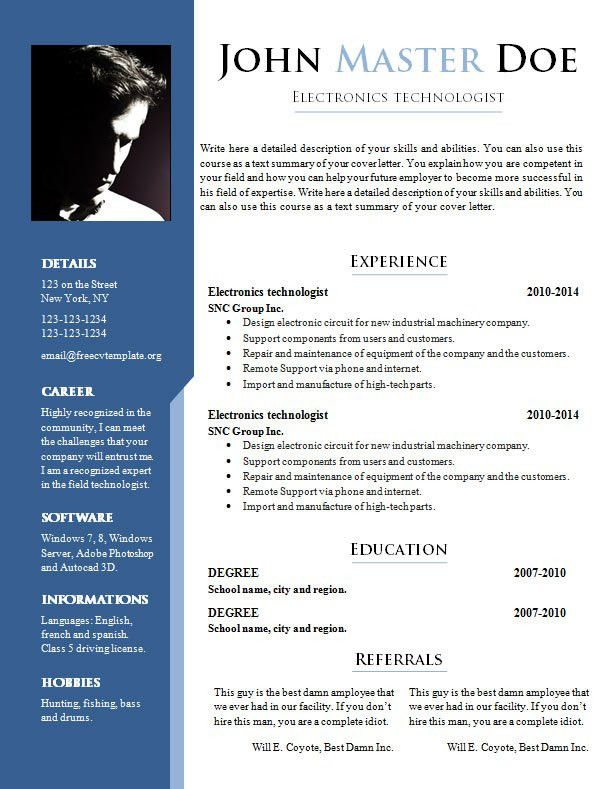 different resume formats different types of resume formats that