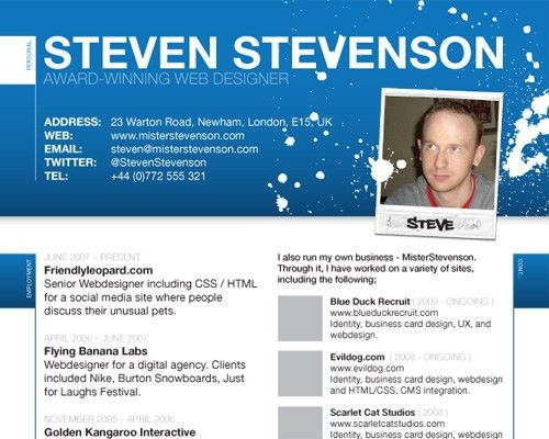 20 vcard csshtml website templates. mee responsive resume personal ...