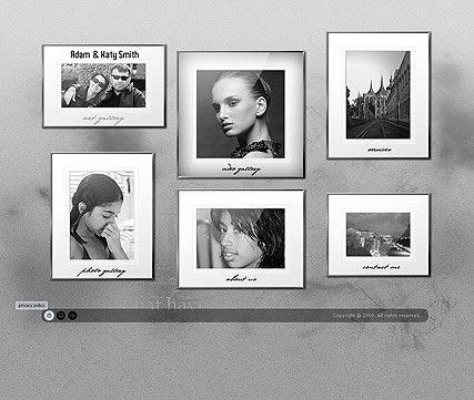 Family album Gallery Flash Template | Best Website Templates