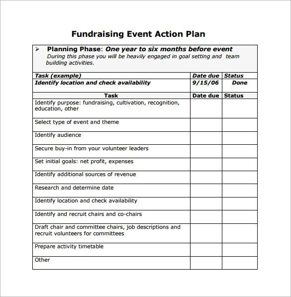 Event Planning Templates | Documents and PDFs