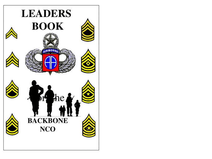 82nd Leaders Book - Documents