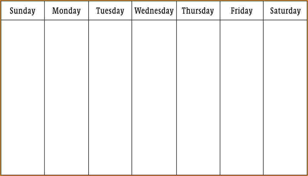 Week Schedule Template.weekly Schedule.gif - Questionnaire Template
